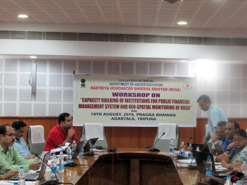 Workshop on PFMS and Bhuvan RUSA (2)