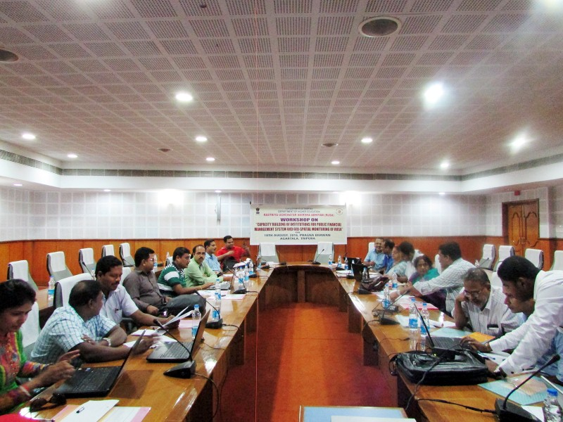 Workshop on PFMS and Bhuvan RUSA