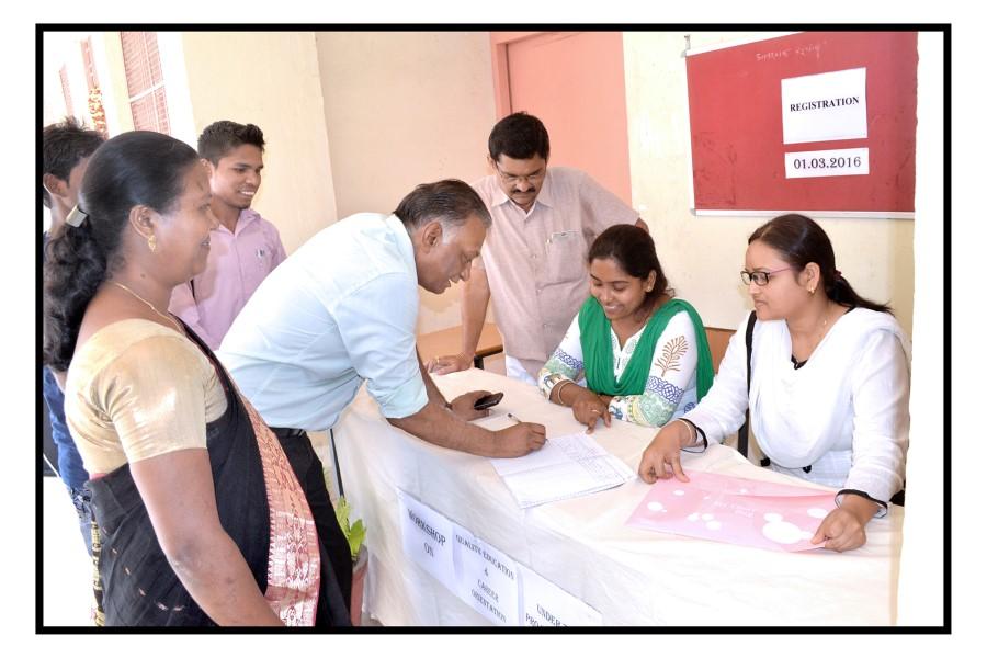 Workshop at Govt.College, Saragaon