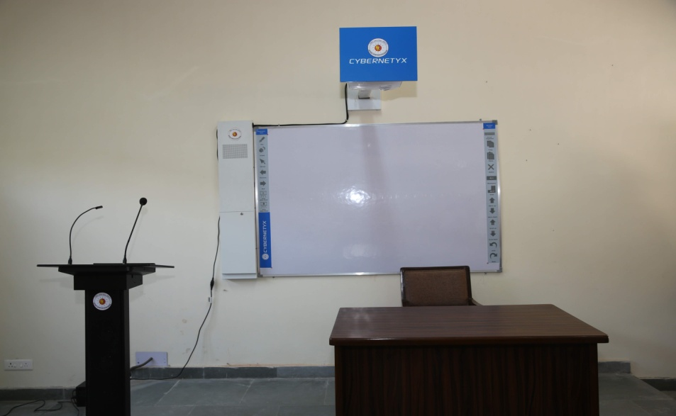 A Smart Class room out of 170 at various colleges