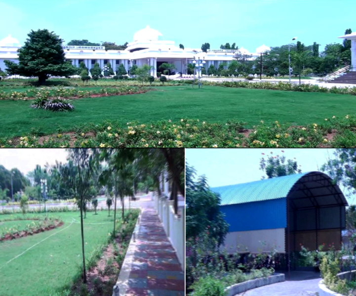 Alagappa University - Campus Development