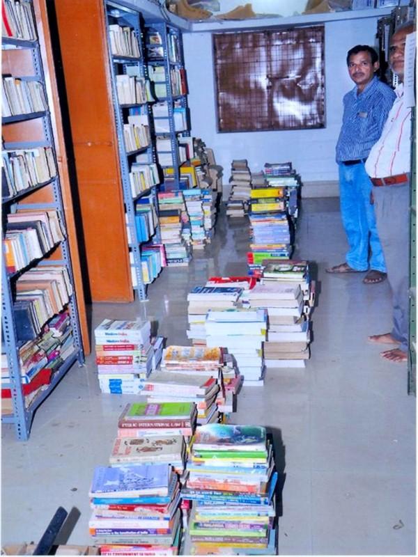 BB Clg Rairakhol - Library