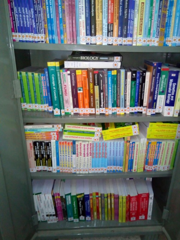 Books purchased under RUSA at Govt. College, Nasirabad
