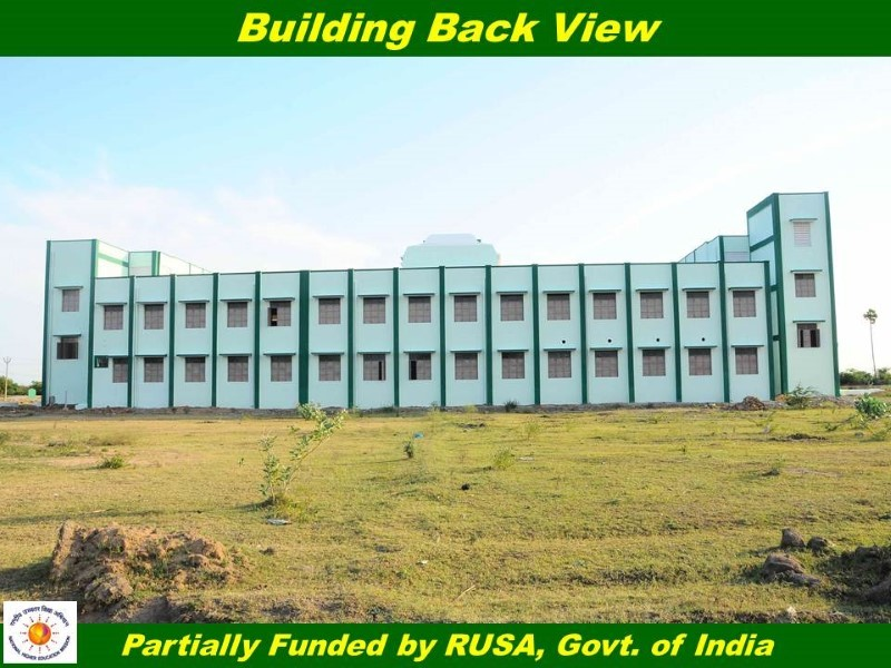Thiruvallurvar University - Building Back View
