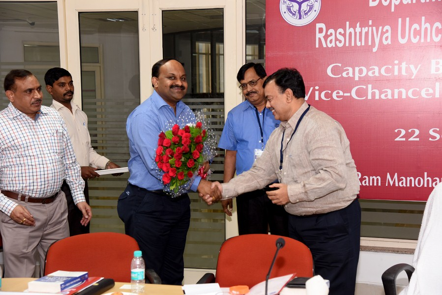 Capacity Building Workshop of VC, Lucknow (4)