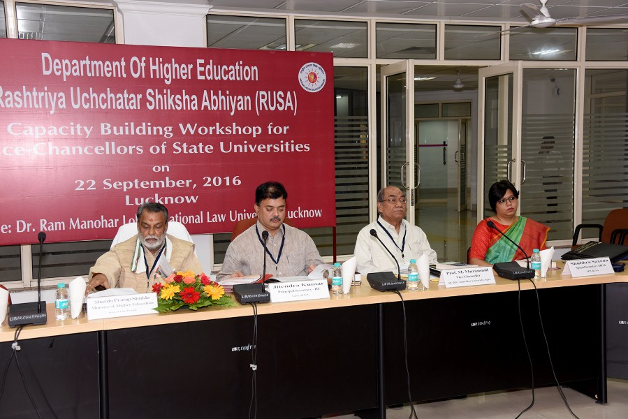 Capacity Building Workshop of VC, Lucknow (6)