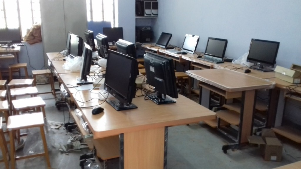 Computers and peripherals for ICT Lab at Govt. College, Chomu