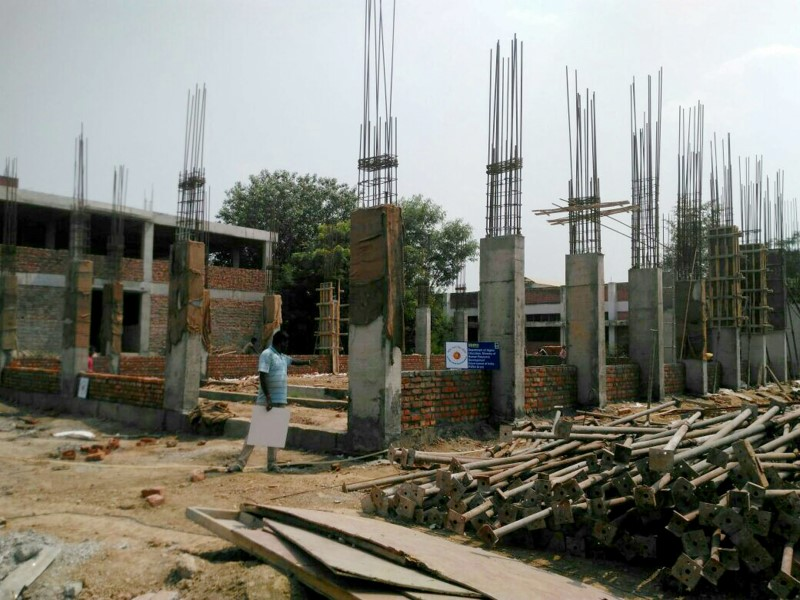 Construction Work - Funded by RUSA