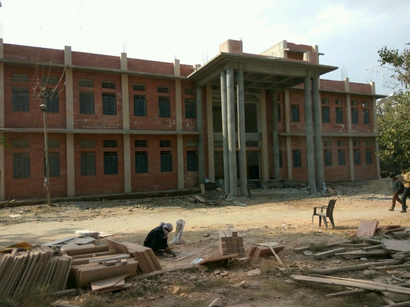 Construction of part building of Science College of Mohan Lal Sukhadiya University, Udaipur
