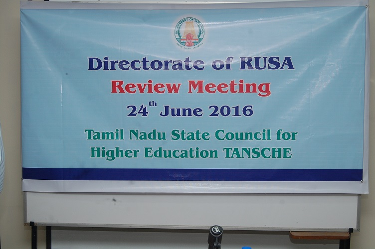RUSA Review Meeting