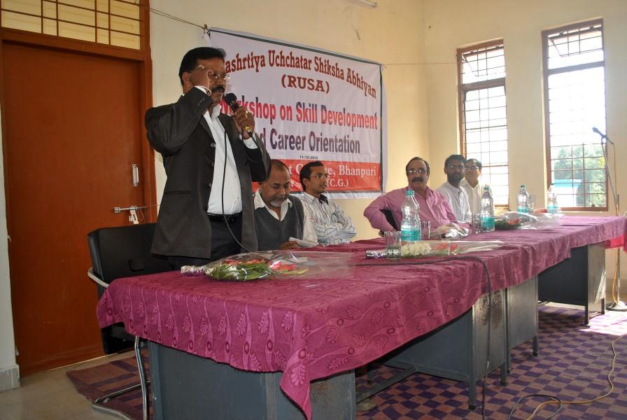 One Day Workshop - Govt. College Bhanpuri