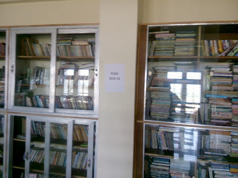 Library - Established under RUSA Project