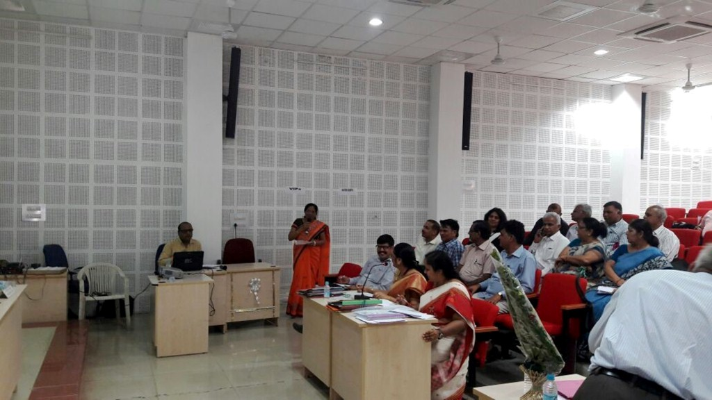 First Monitoring and Mentoring Workshop, JNV Univ. Jodhpur (4)