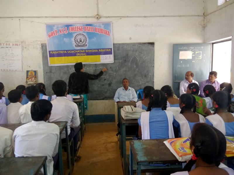 GER WORKSHOP AT H.S.S SCHOOL, KODEKASA