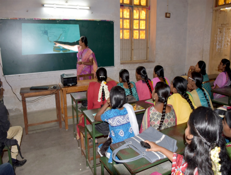 Government Arts College, Coimbatore - Smart class rooms