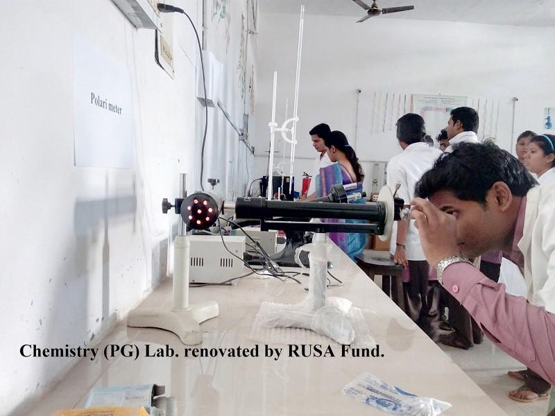 Govt. Deg. College, Sundargarh - PG Chemistry Lab