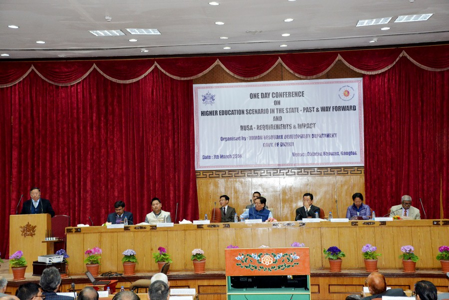 Higher Education Conference - Gangtok (2)