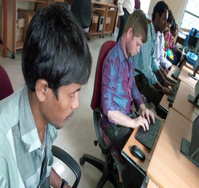 Knowledge Resource Centre for Visually challenged