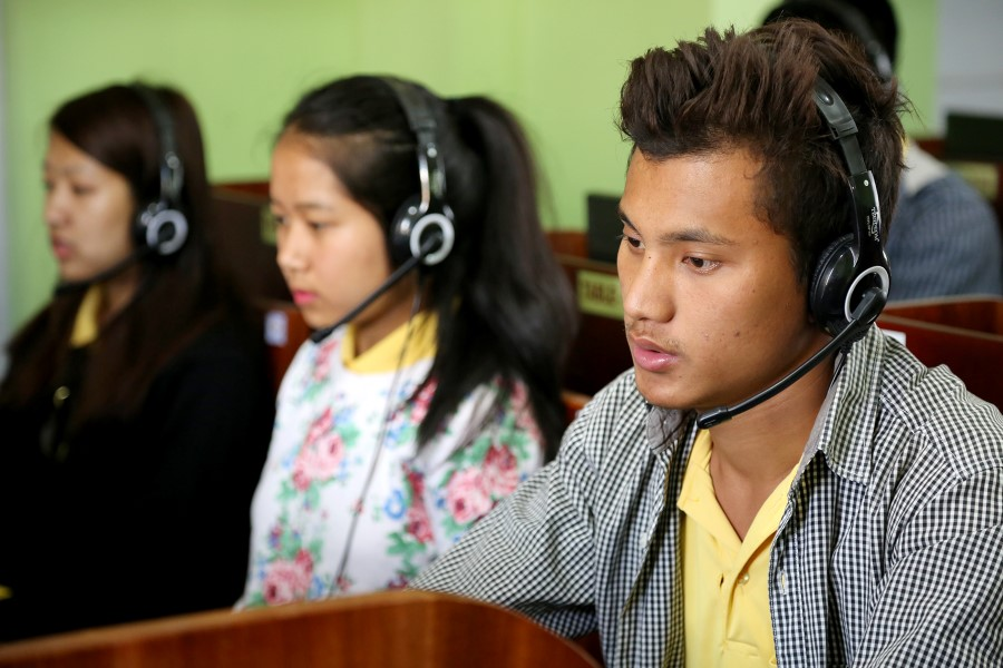 Language Lab - Funded by RUSA