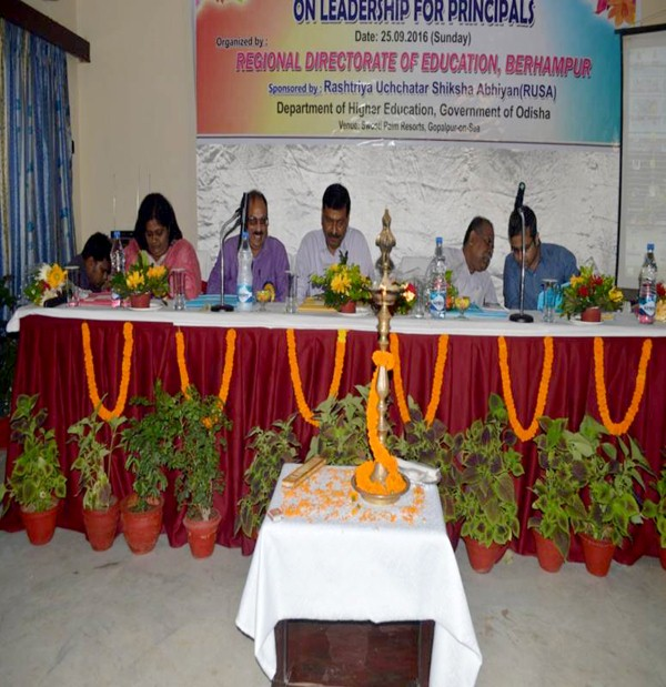 Leadership Development Programme under RUSA for Berhampur