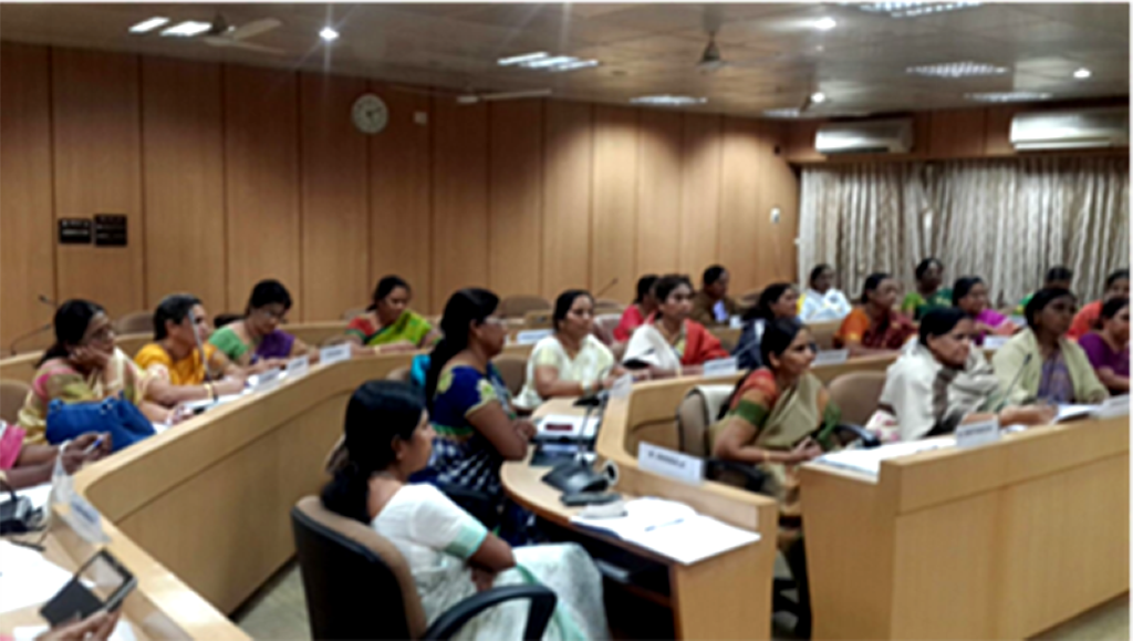 Training at NUEPA, Delhi
