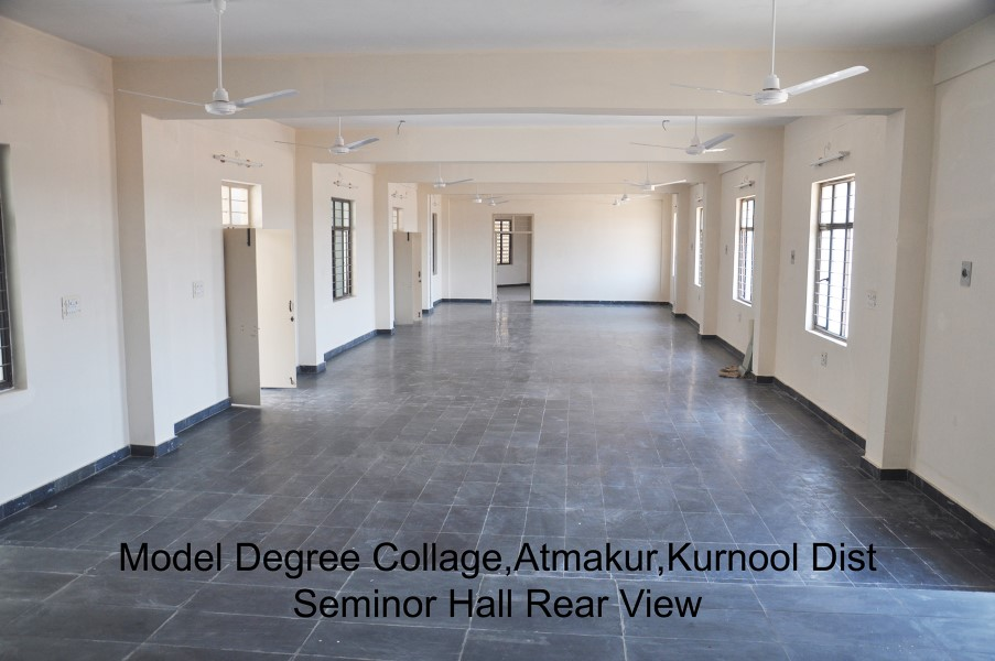 Model Degree College Seminar Hall