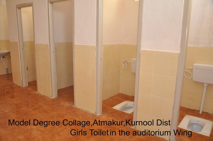 Model Degree College Girls Toilet
