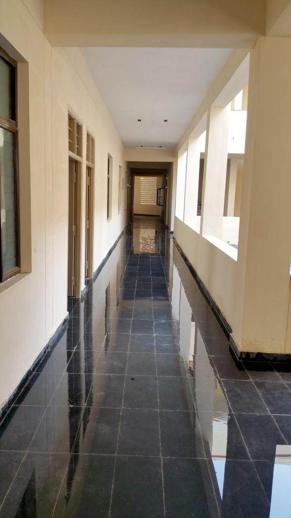 Model Degree College Corridor