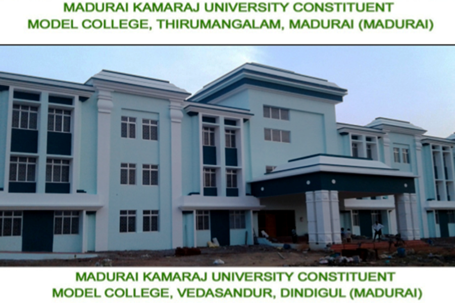 Model Colleges at Vedasandur, Thirumangalam, Kottur and Sattur (1)