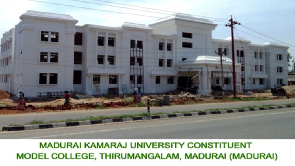Model Colleges at Vedasandur, Thirumangalam, Kottur and Sattur (2)