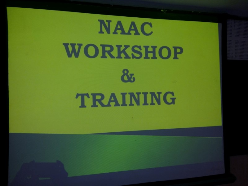 NAAC Workshop & Training