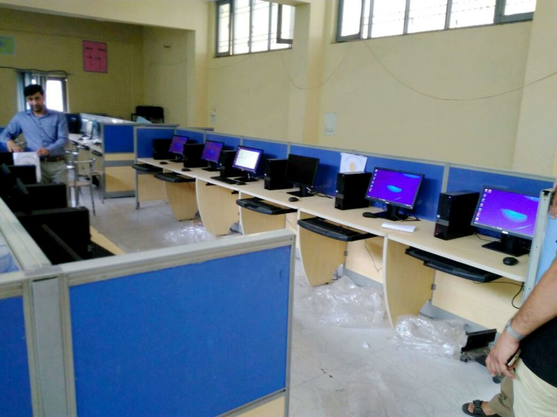 New Computer Lab - Funded by RUSA