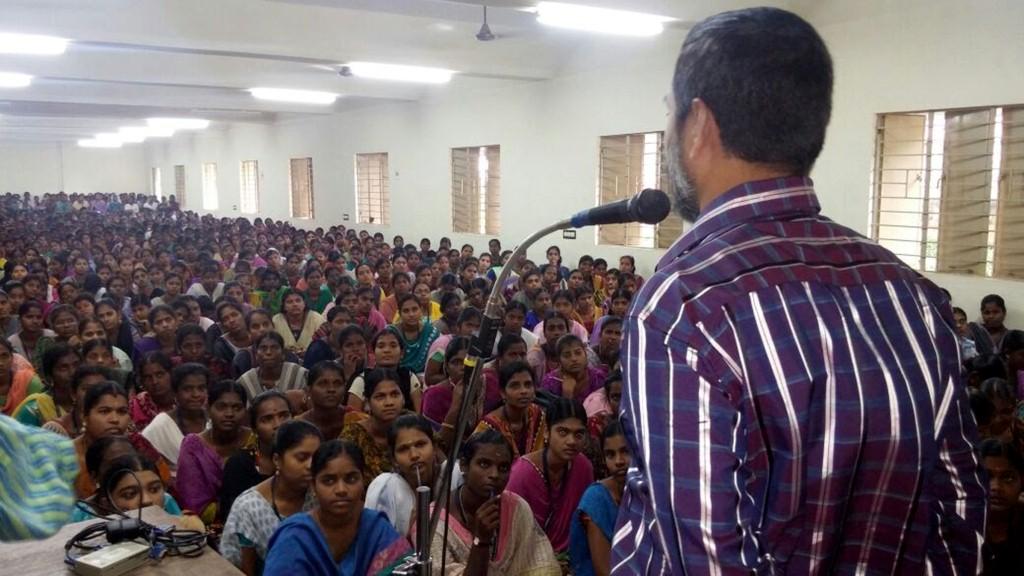Orientation at MGASC, Madurai