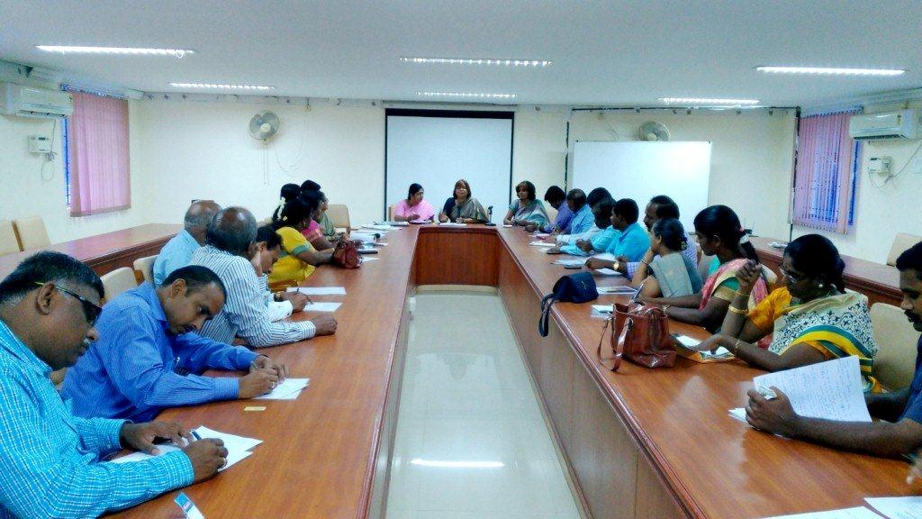 Planning Meeting on October 19, 2016