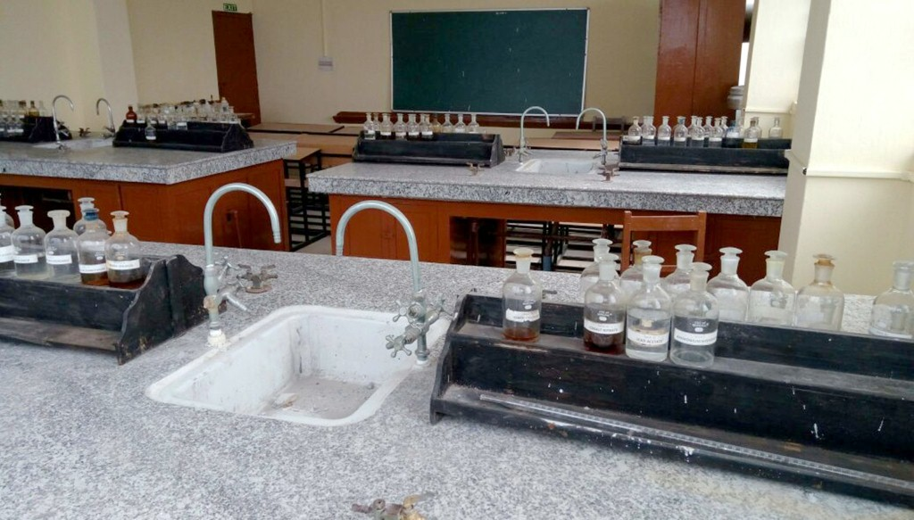Infrastructure Grants to Tadong College - Science Lab (3)