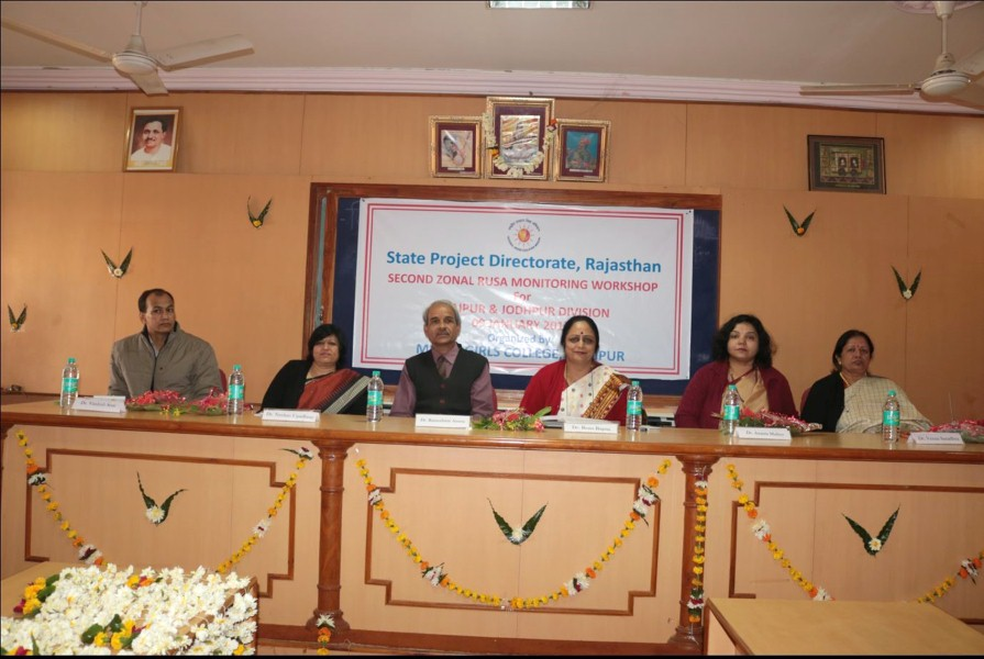 Second Zonal RUSA Monitoring Workshop- Udaipur Jodhpur Divisions (1)