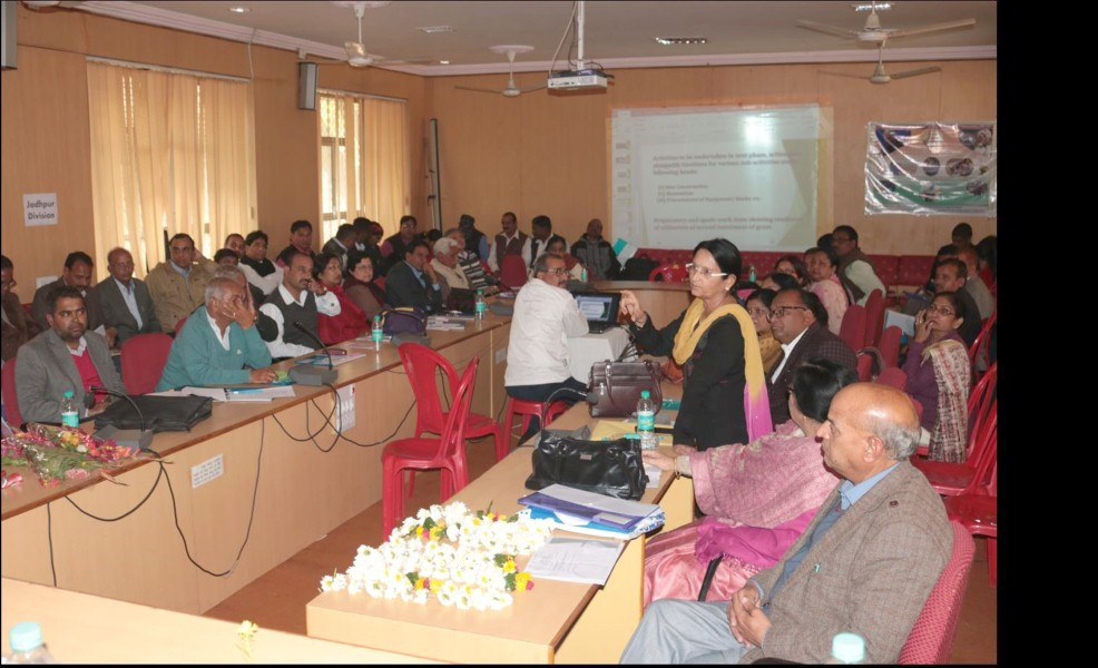 Second Zonal RUSA Monitoring Workshop- Udaipur Jodhpur Divisions (2)