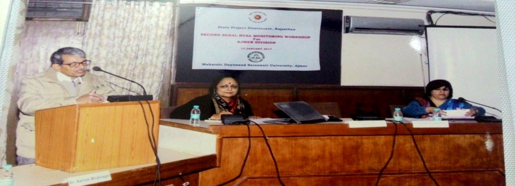 Second Zonal RUSA Monitoring workshop, Ajmer (1)