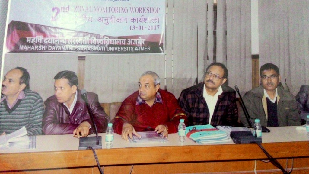 Second Zonal RUSA Monitoring workshop, Ajmer (2)