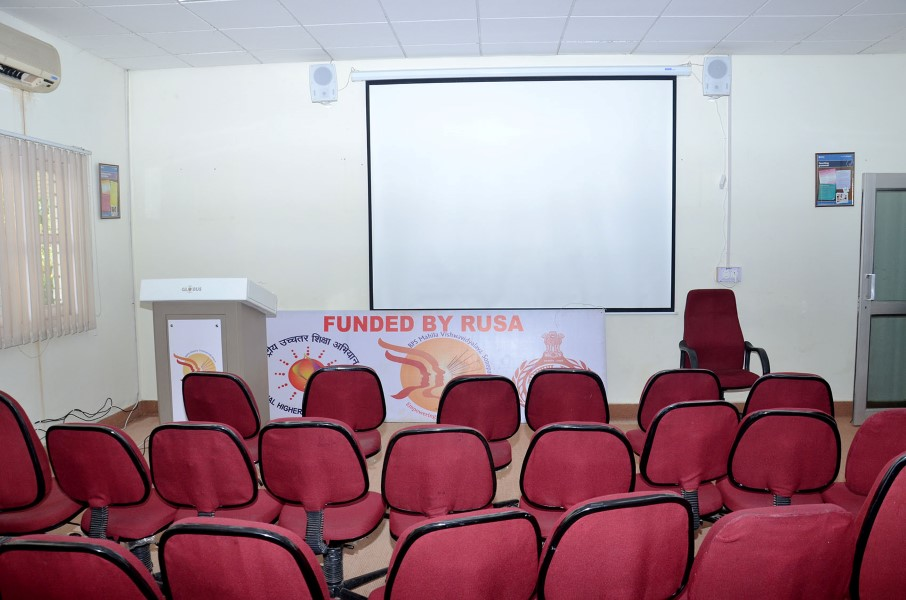 Seminar Hall - Funded by RUSA