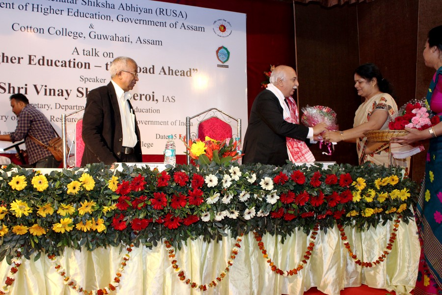 Seminar on Higher Education Road Ahead