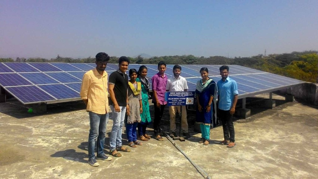Solar Project - Funded by RUSA