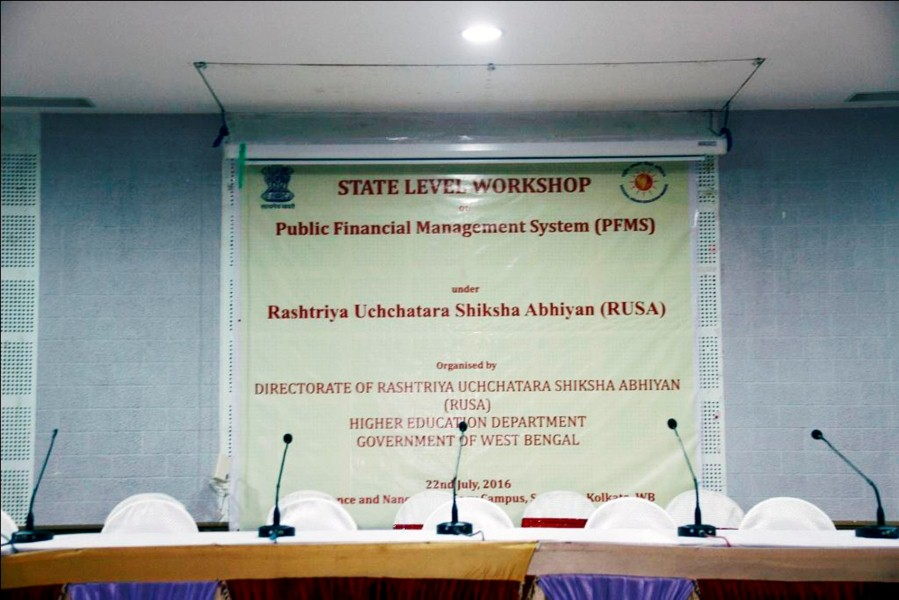 State Level Workshop on PFMS under Rusa (1)