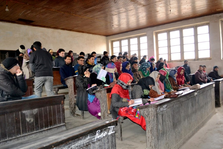 Students Studying in RUSA Funded Classrooms