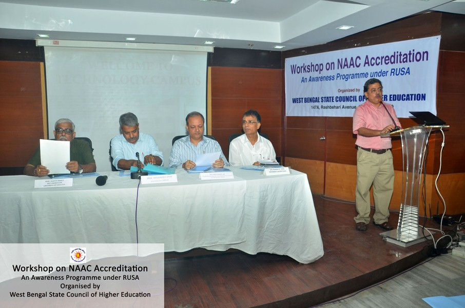 Workshop on NAAC Accredition, WB (2)