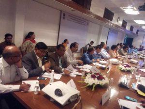 Review meeting held on 28 feb 2018