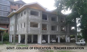 GCOE - TEACHER ED. BLOCK - J&K