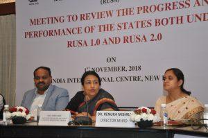 RUSA Review Meetings 1st November 2018