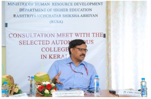 Consultation Meet with the Autonomous Colleges Kerala 23rd November 2018