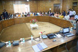 RUSA Reveiw Meeting held  on 3rd May 2019 in Shimla - Himachal Pradesh